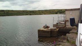 View across Ballin Lake