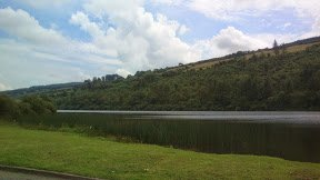Magnificant view of Curraghlicky Lake